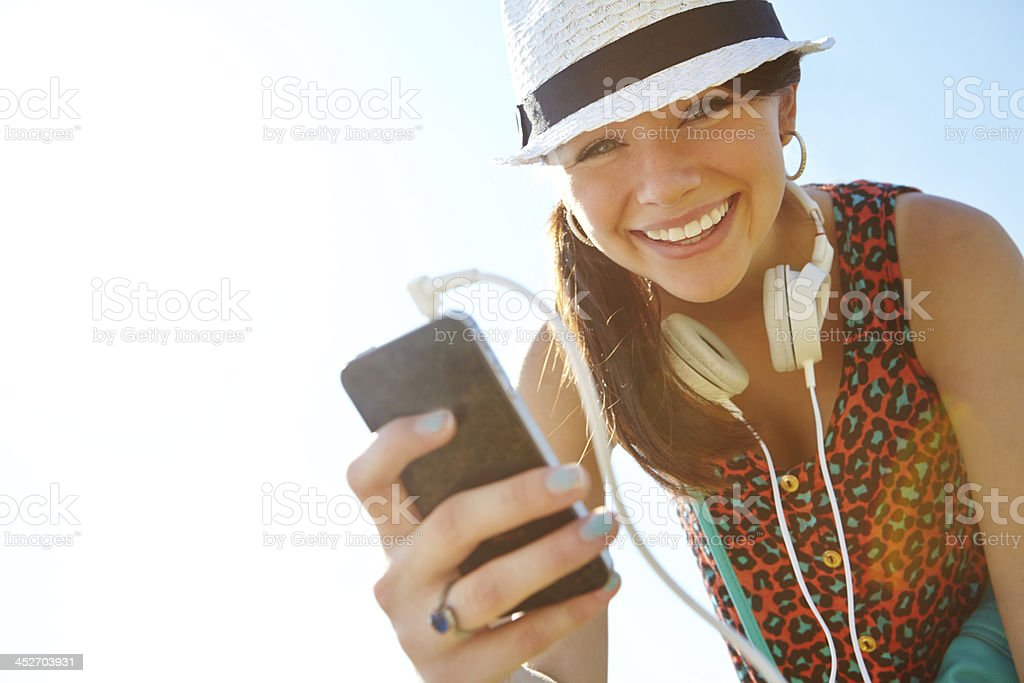 What's your favourite song? stock photo