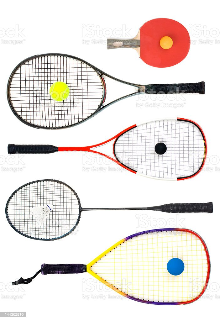 What's your racket royalty-free stock photo