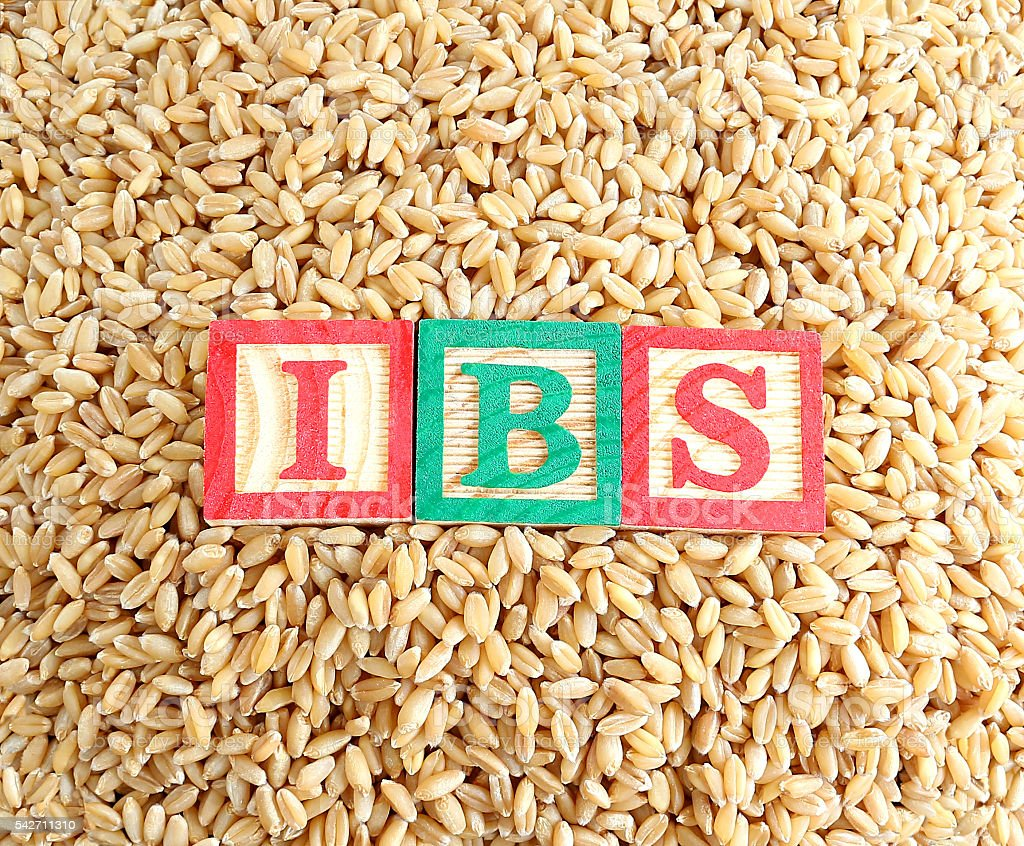 Wheat and Irritable Bowel Syndrome (IBS) stock photo