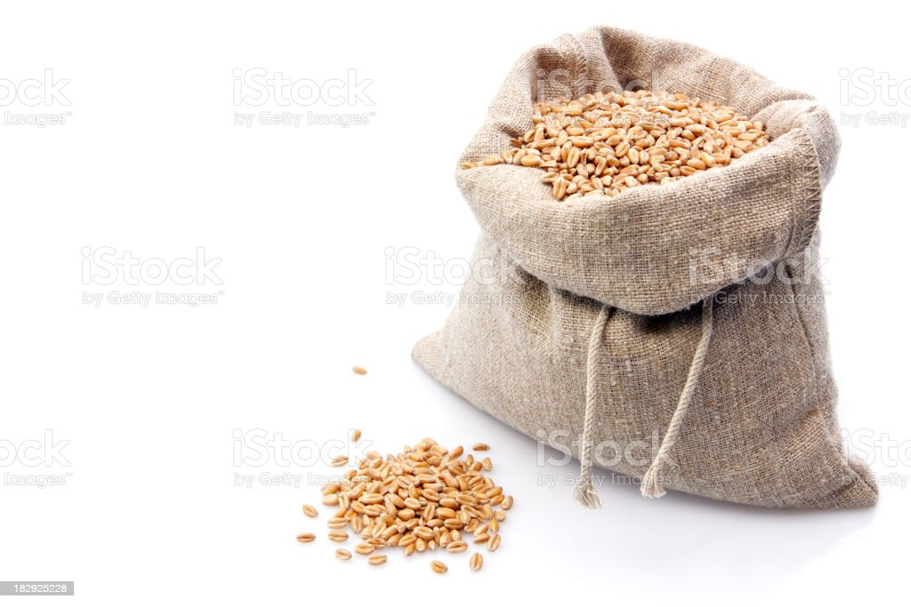 Wheat Bag royalty-free stock photo