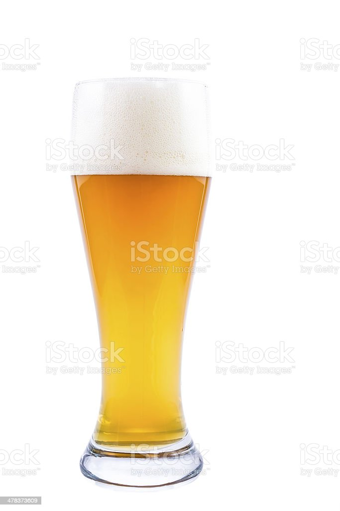 Wheat Beer stock photo