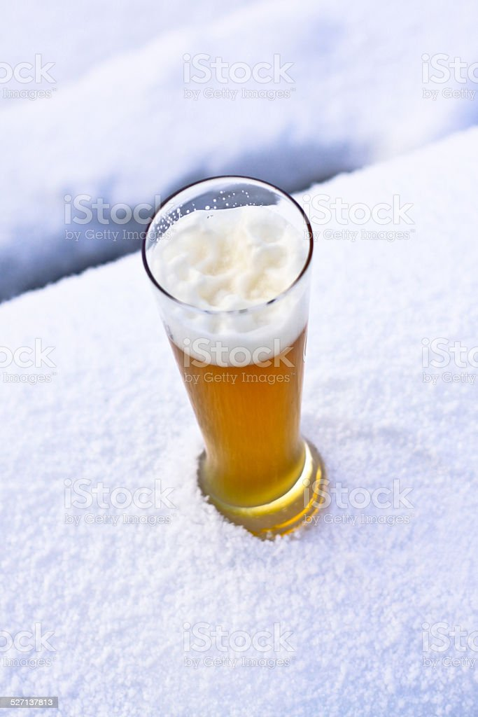 Weizenbier stock photo