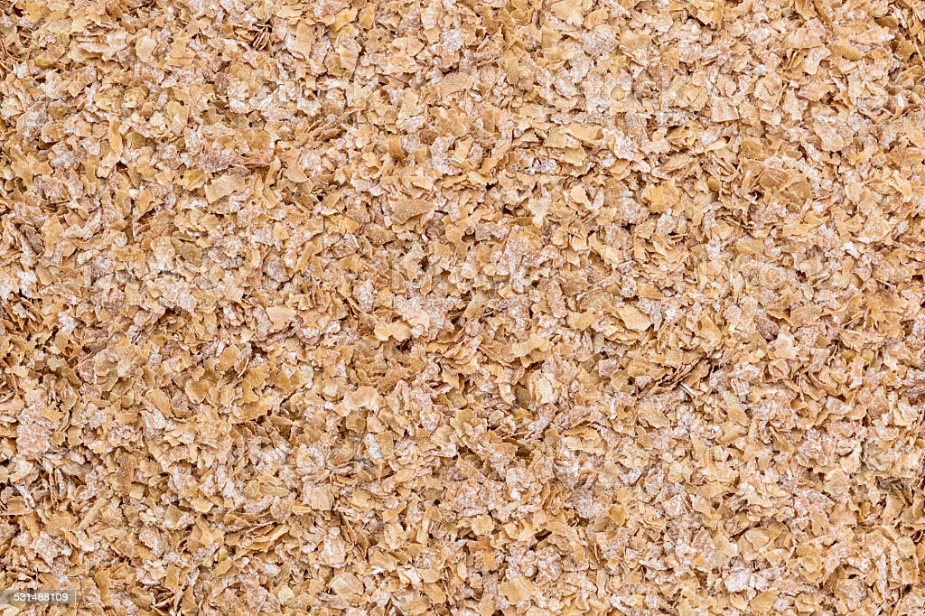 wheat bran background stock photo