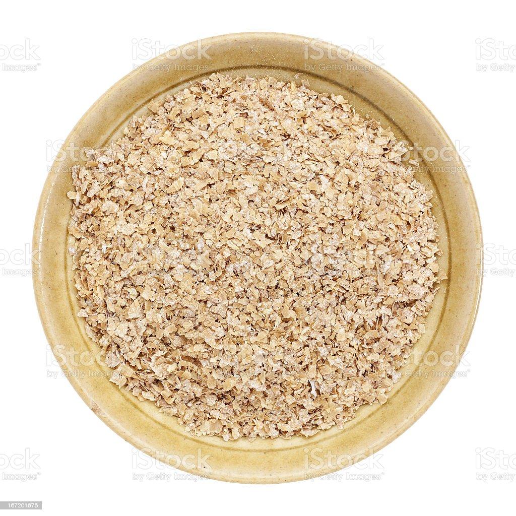 wheat bran royalty-free stock photo
