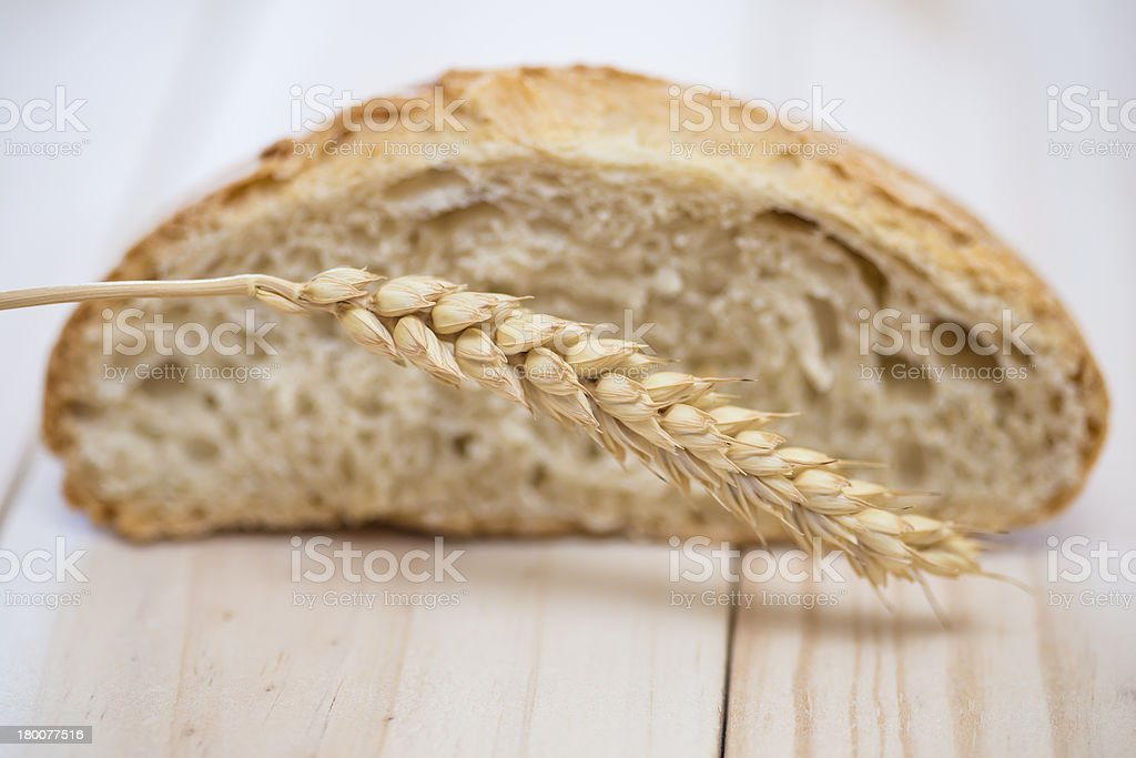 Wheat bread royalty-free stock photo