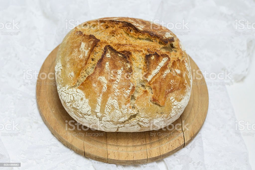 Wheat bread. stock photo