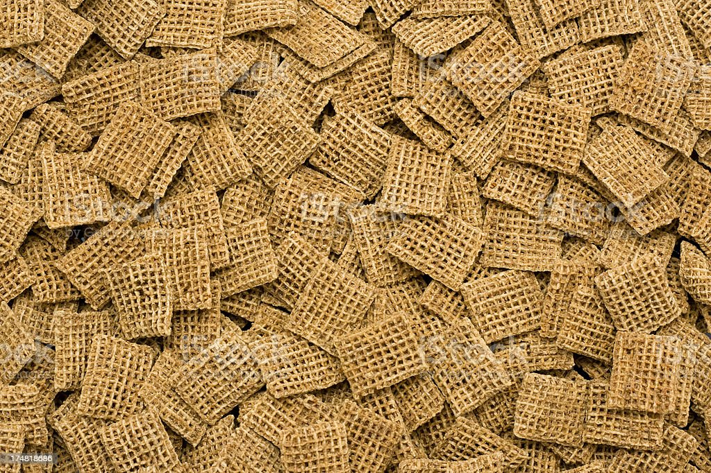 Wheat Breakfast Cereal royalty-free stock photo