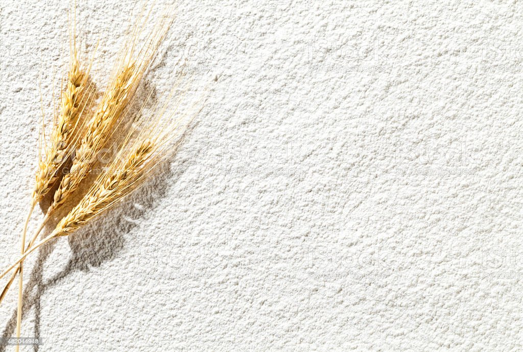 Wheat flour texture background stock photo