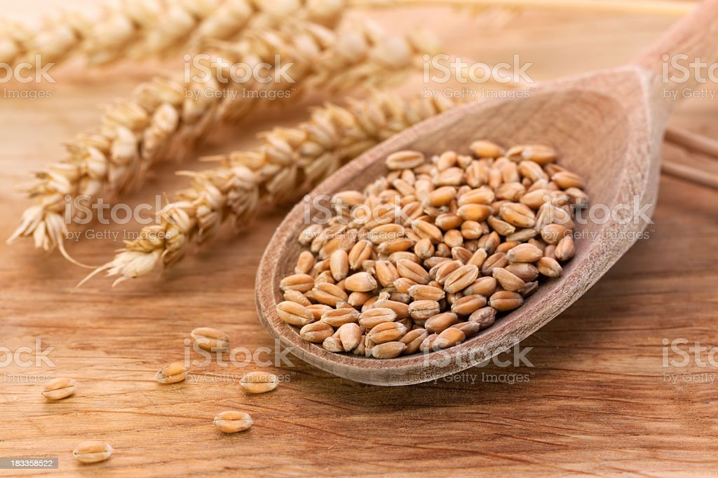 Wheat food stock photo