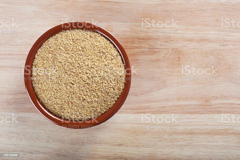 Wheat Germ stock photo