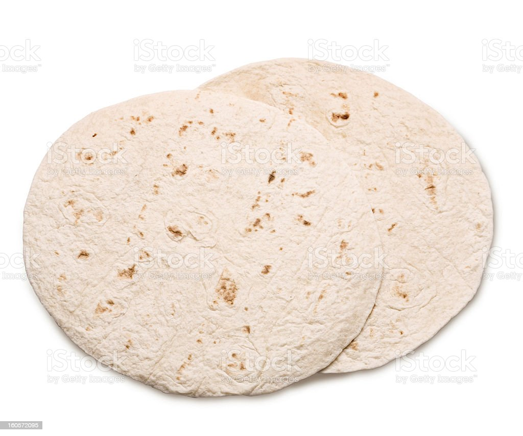 wheat tortillas stock photo