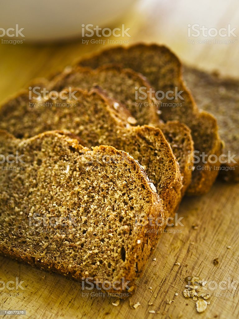 wheaten bread stock photo