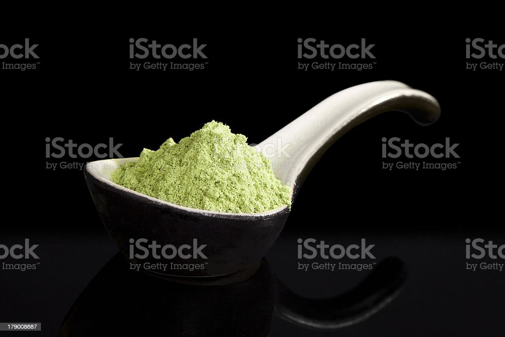 Wheatgrass. royalty-free stock photo