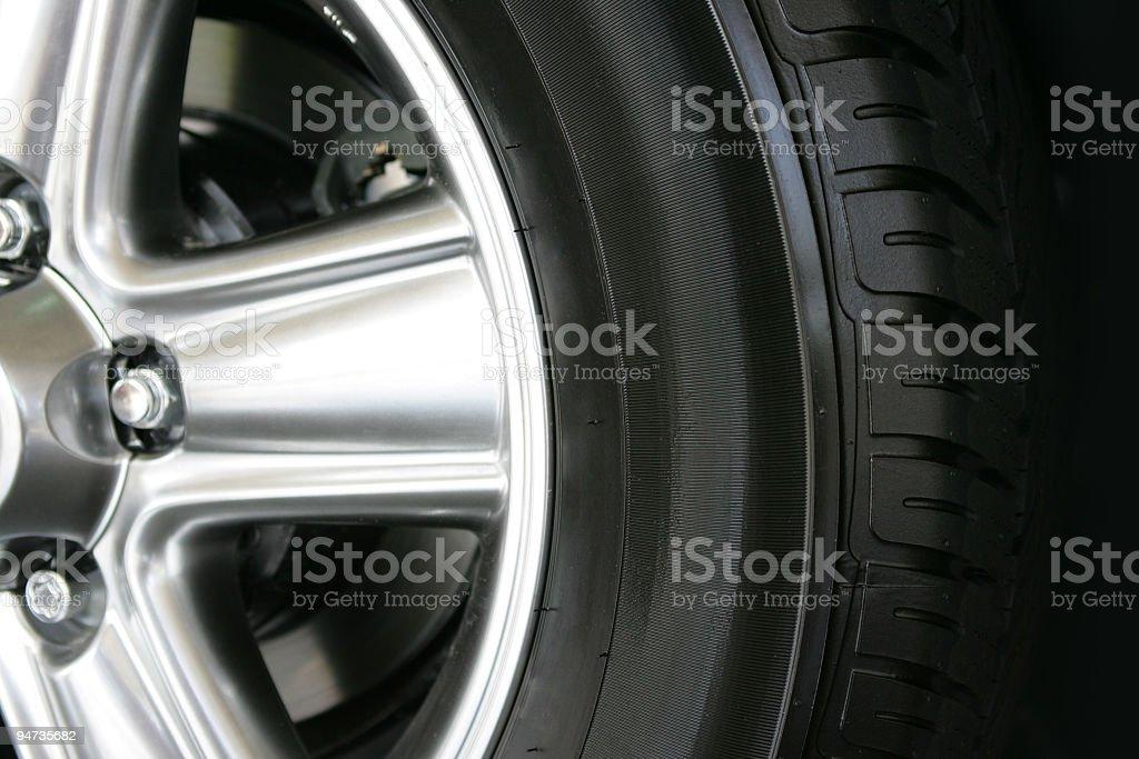 Wheel 02 stock photo