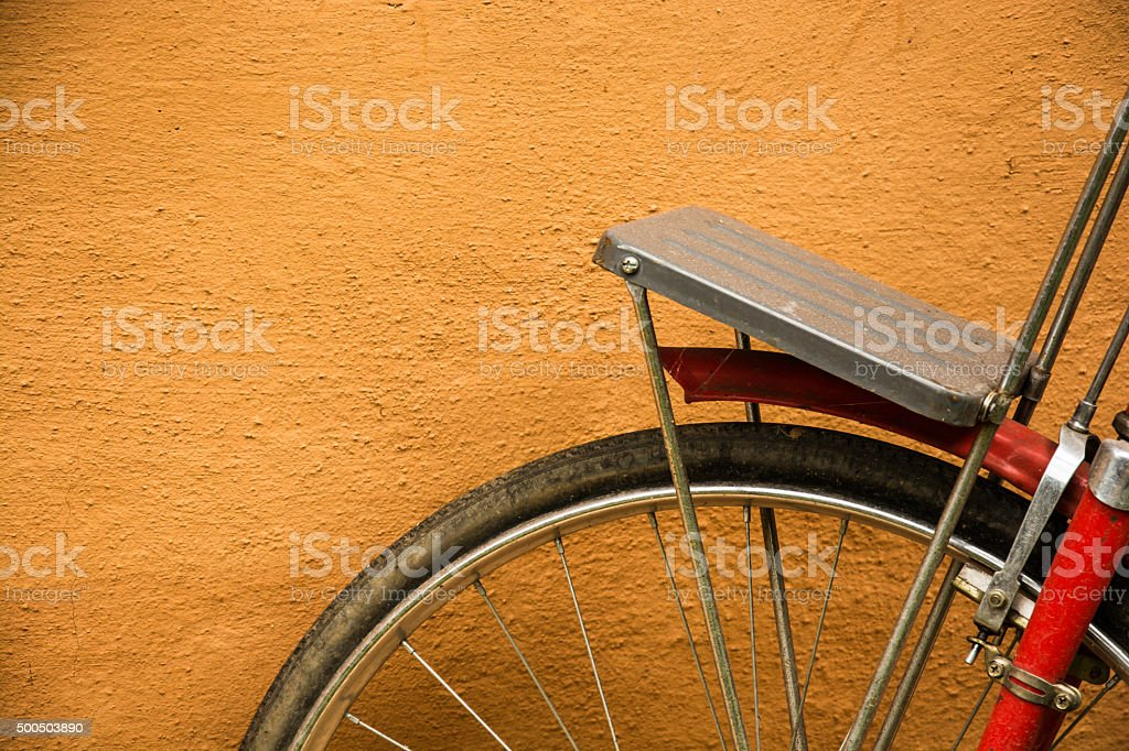 Wheel bicycle royalty-free stock photo