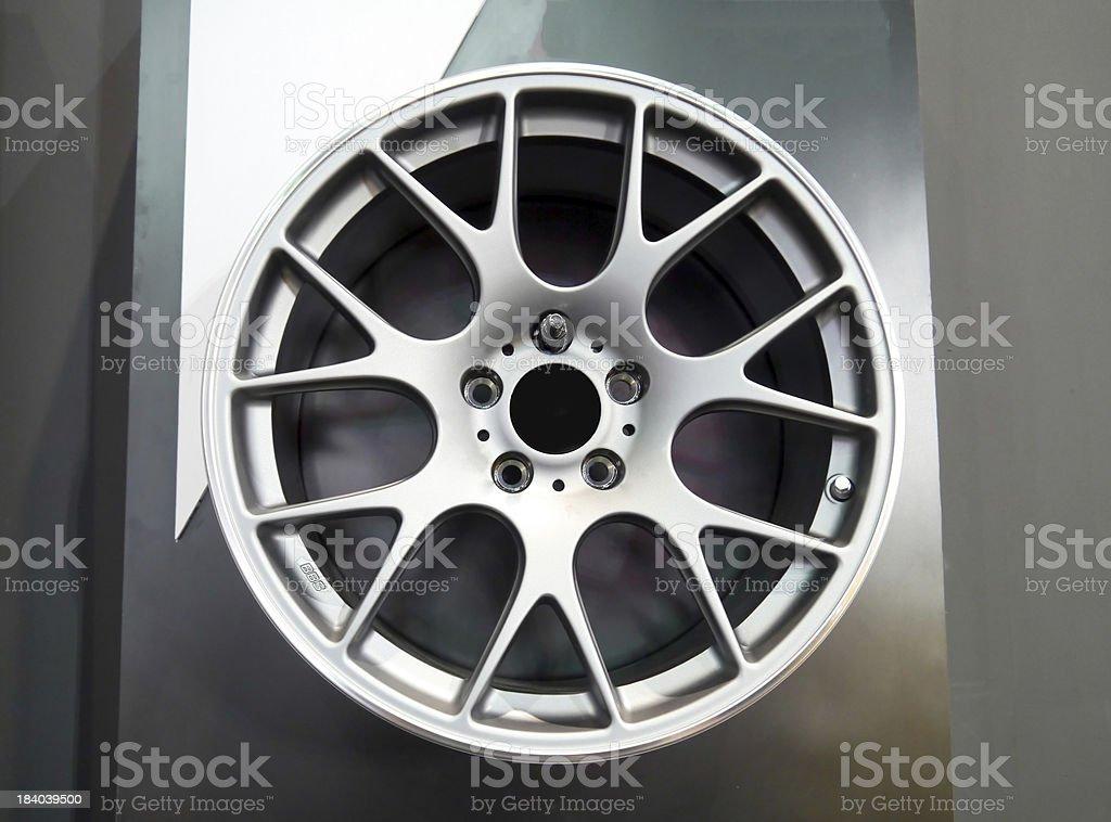 Wheel car royalty-free stock photo
