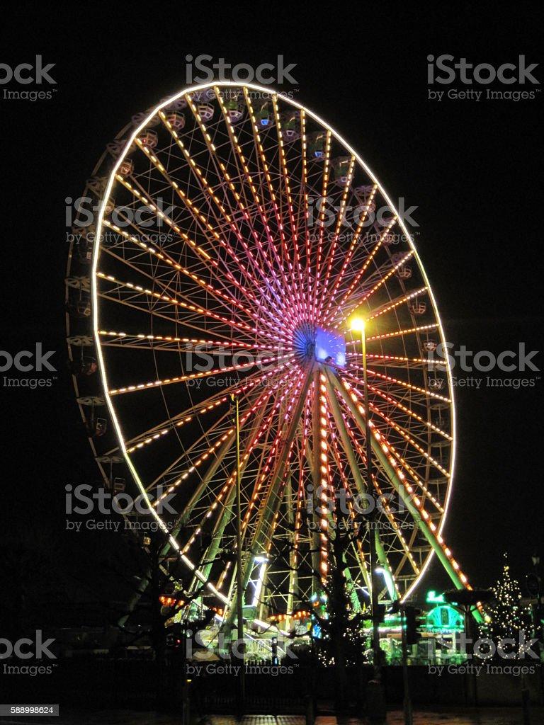 Wheel, cicus stock photo