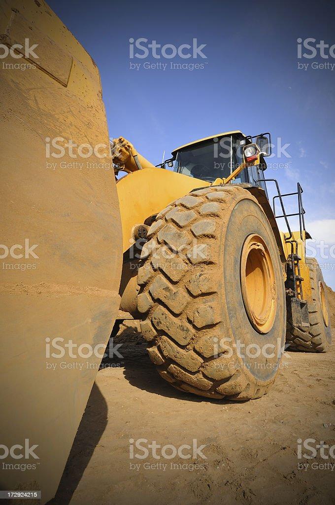Wheel Dozer royalty-free stock photo