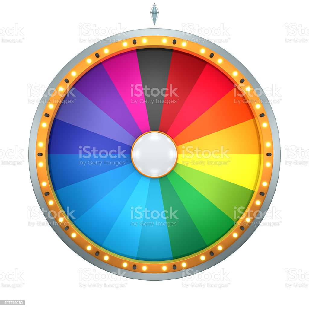 wheel fortune 18 area stock photo