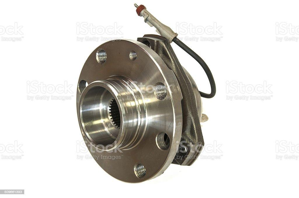 Wheel hub assembly stock photo