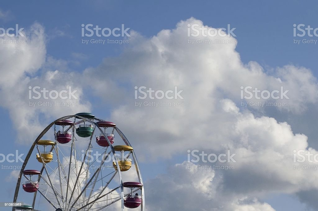 Wheel in the Sky royalty-free stock photo