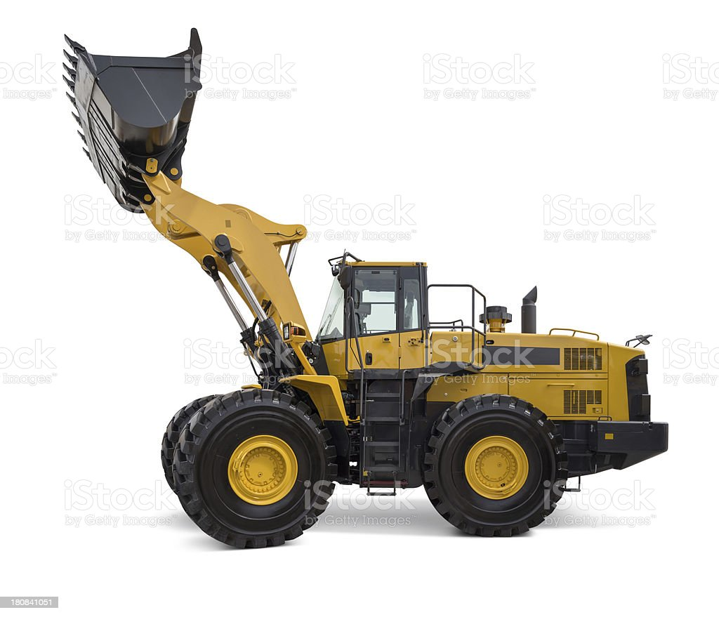 Wheel Loader royalty-free stock photo