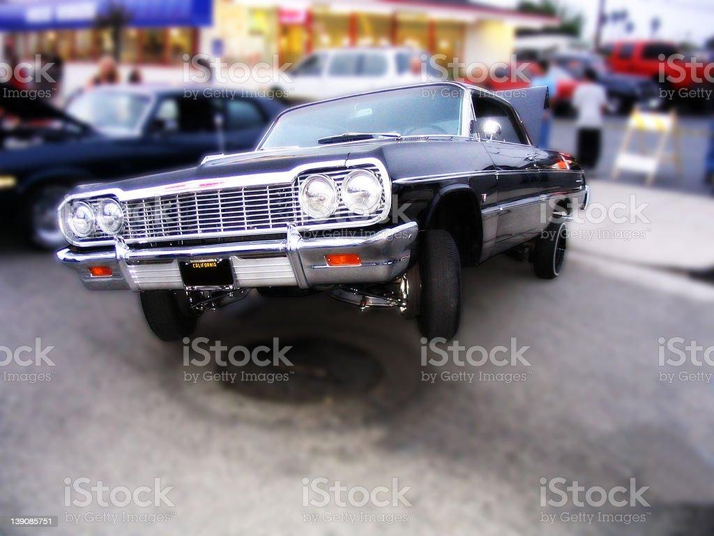 3 Wheel Motion stock photo