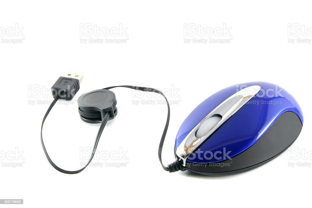 Wheel mouse stock photo