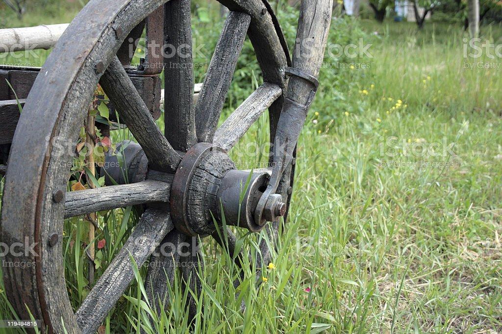 휠 of 수레 royalty-free 스톡 사진
