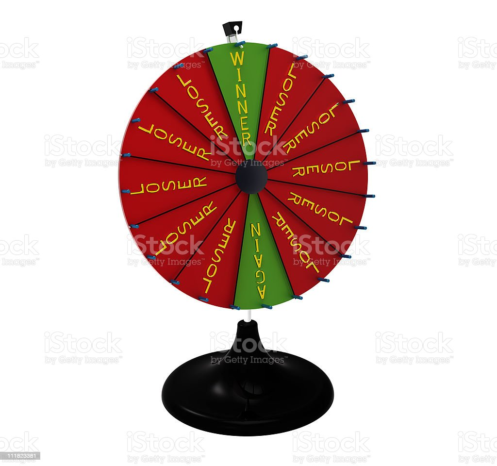 Wheel of fortune royalty-free stock photo
