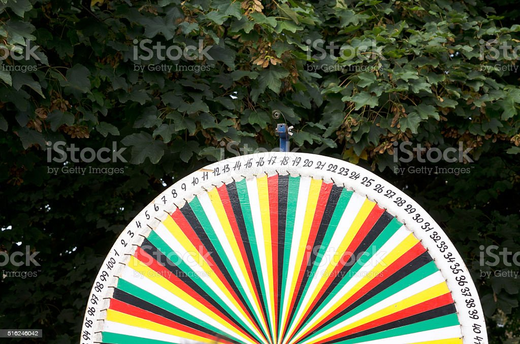 Wheel of Fortune stock photo