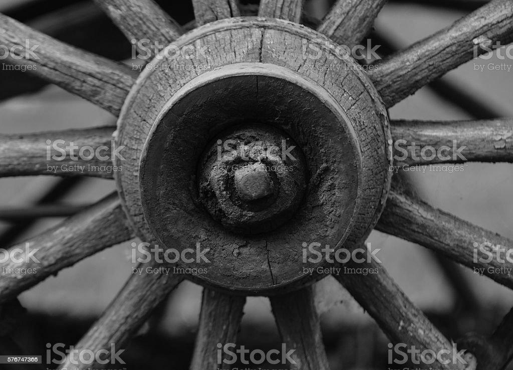 Wheel of life stock photo