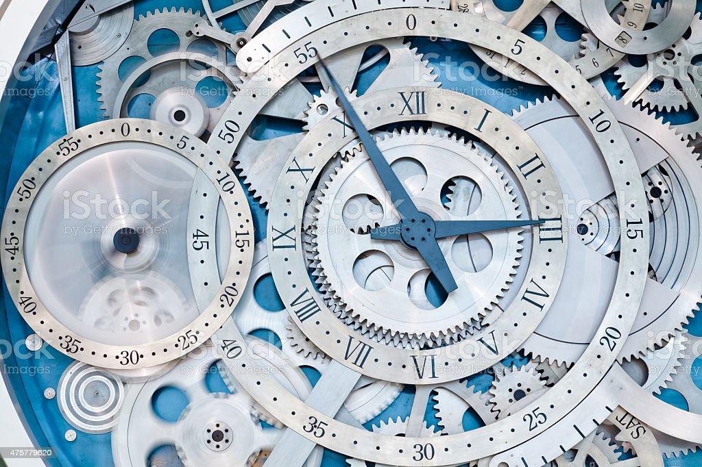 wheel of time stock photo