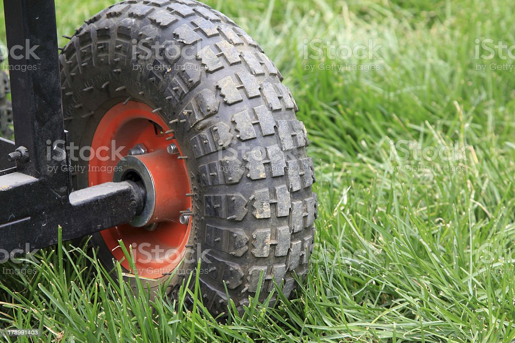 Wheel parts royalty-free stock photo