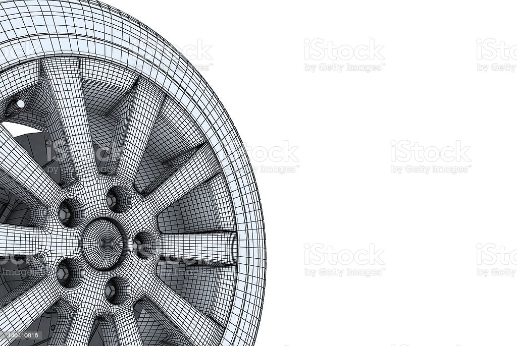wheel stock photo