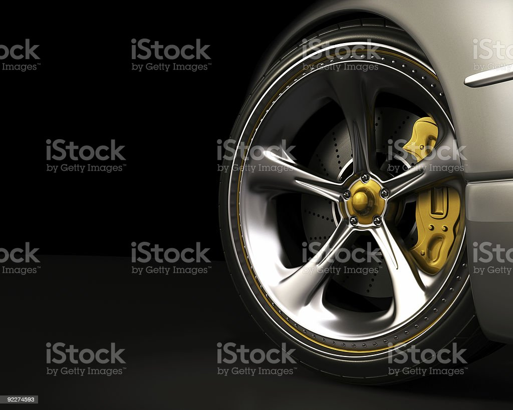 Wheel (Exclusive Design) stock photo