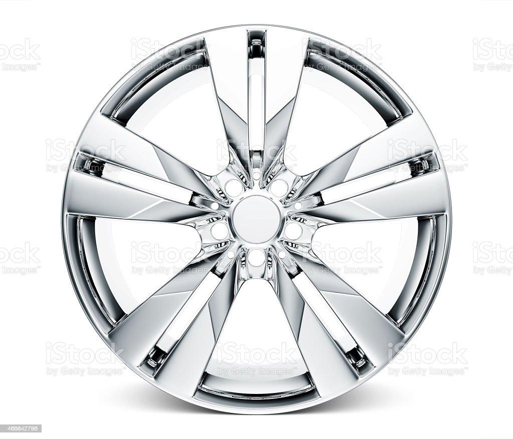 Wheel rim stock photo