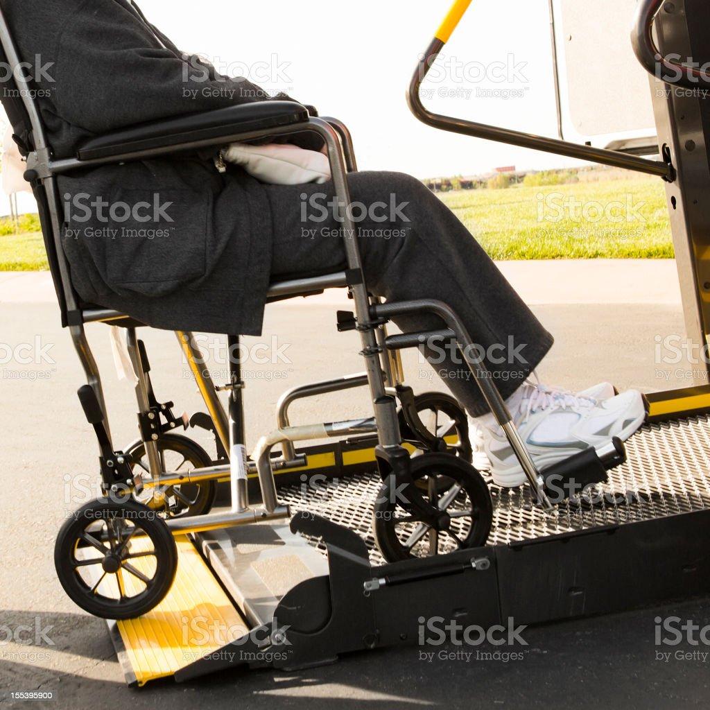 Wheelchair Lift royalty-free stock photo