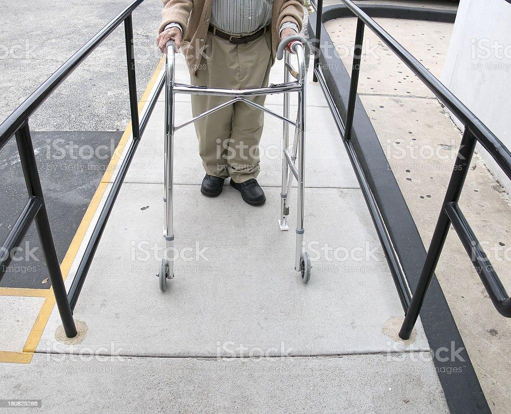 Wheelchair Ramp stock photo