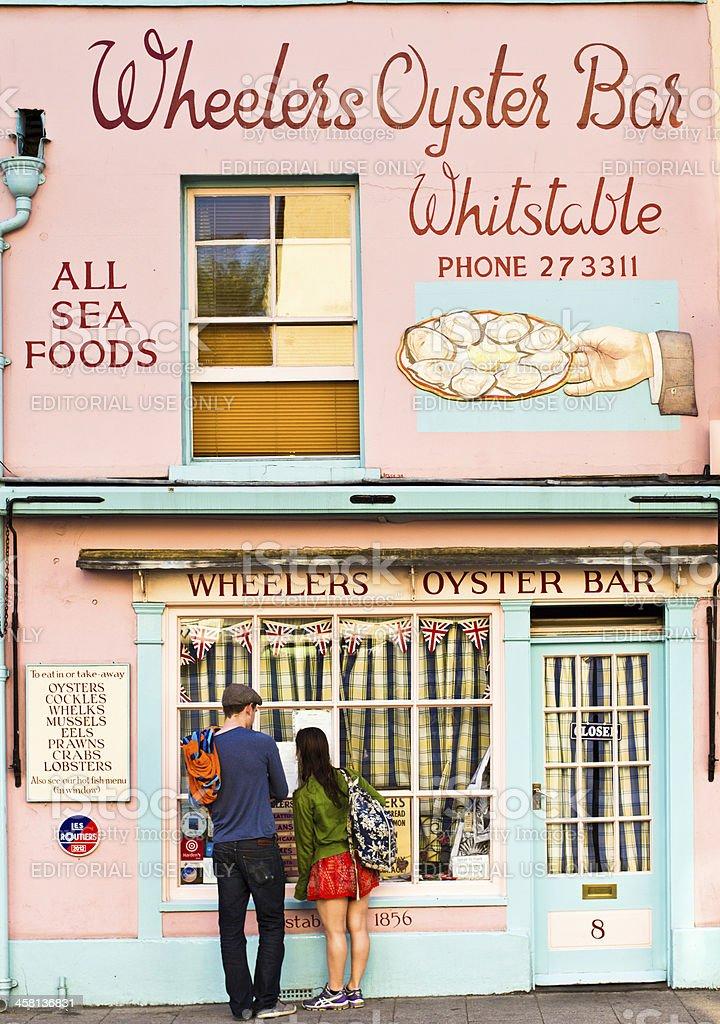 Wheelers Oyster Bar stock photo