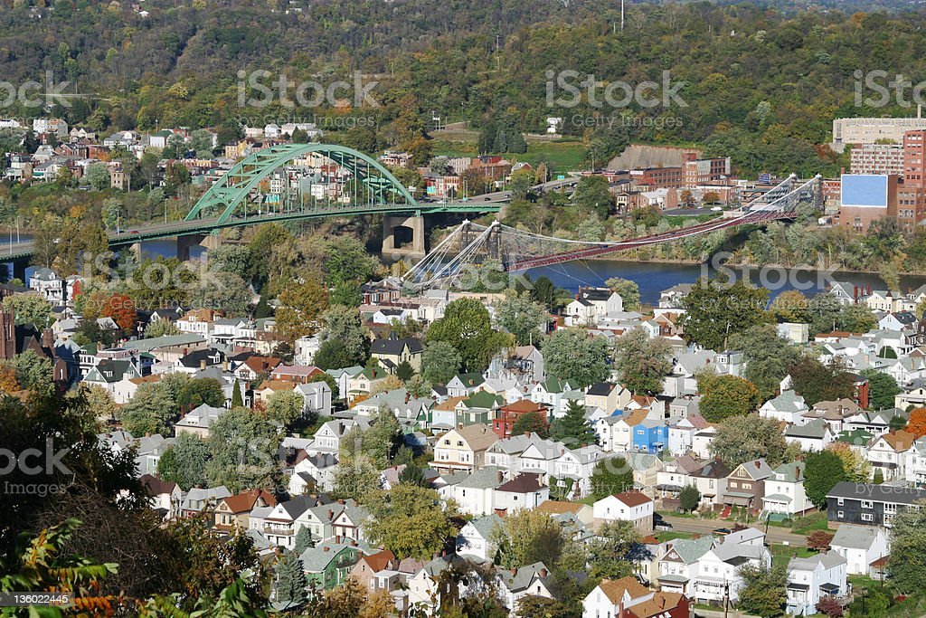 Wheeling, West Virginia stock photo
