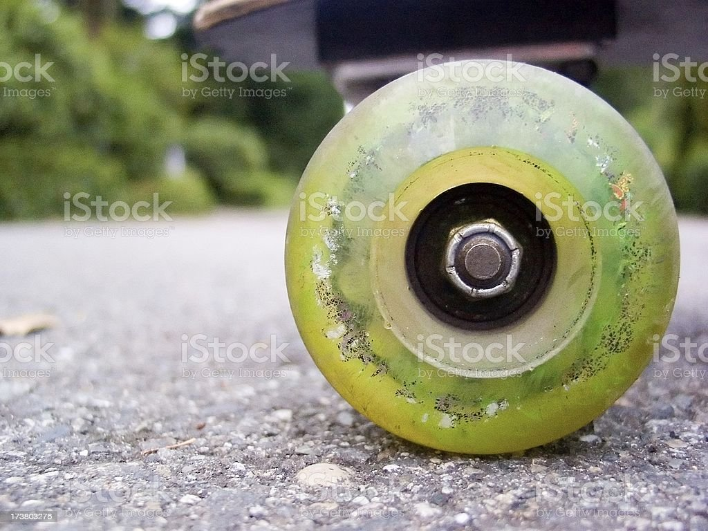 Wheels of speed stock photo