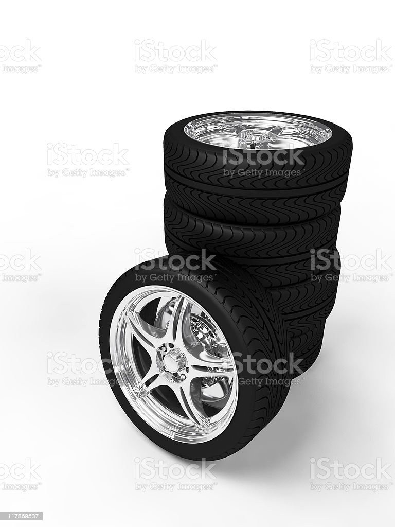 Wheels royalty-free stock photo
