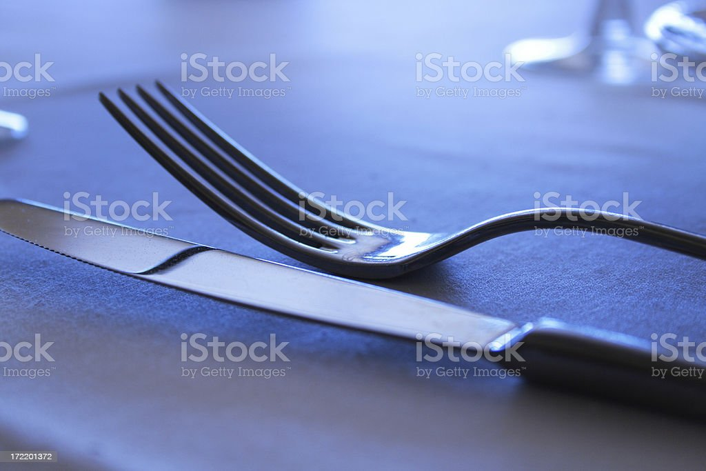 when a meal is also elegant royalty-free stock photo
