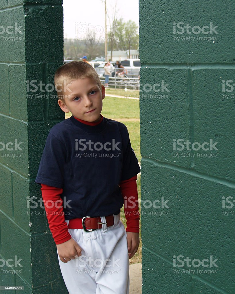 When Do I Get To Bat? royalty-free stock photo