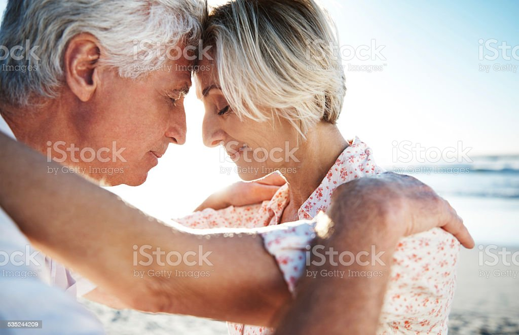 When I'm with you, nobody else matters stock photo