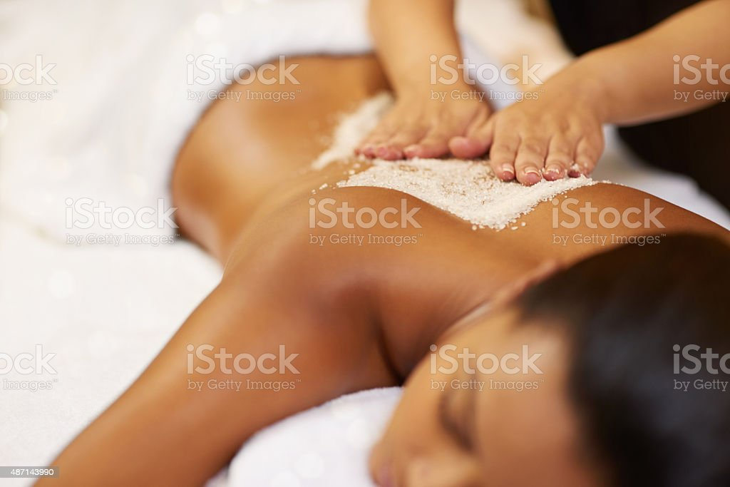 When in doubt massage it out... stock photo