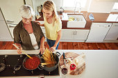 When it comes to cooking, mom knows best