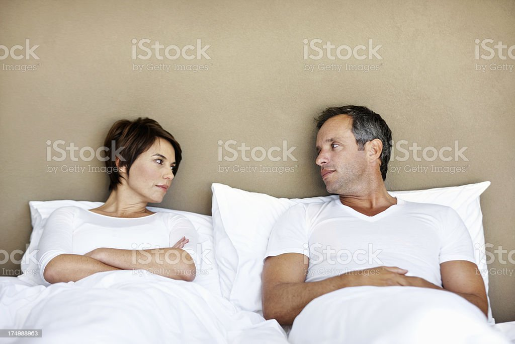 When life gets in the way of love stock photo