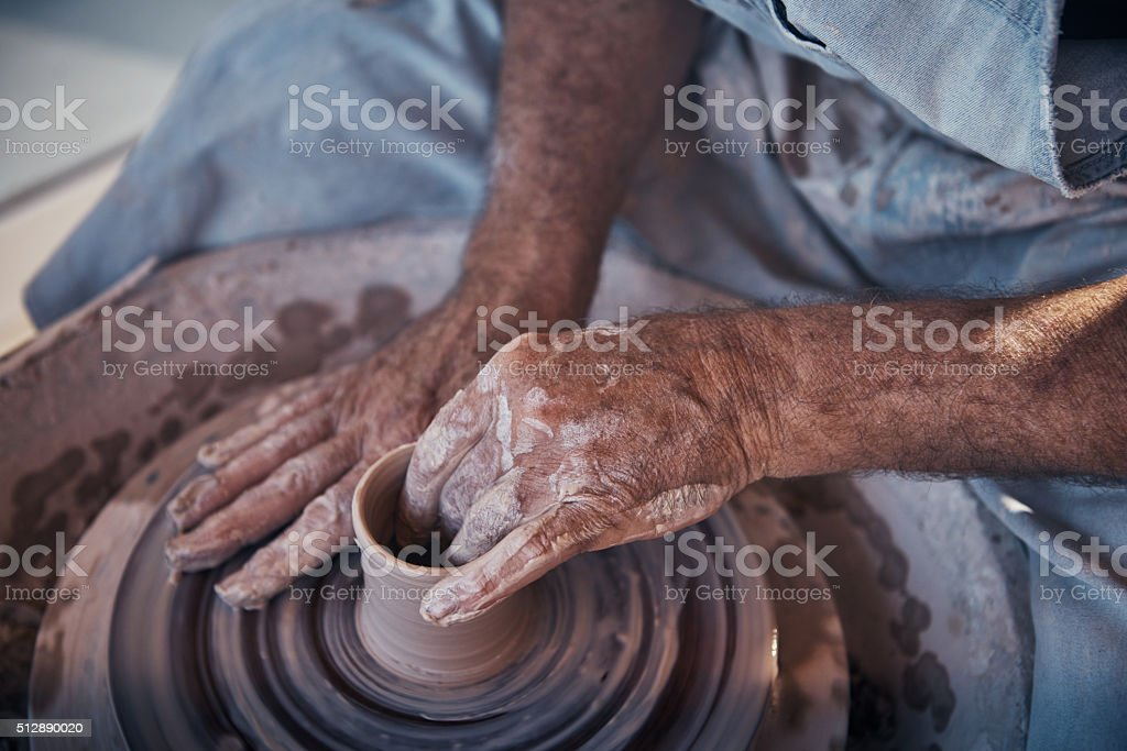 When life gives you hands, make handmade stock photo